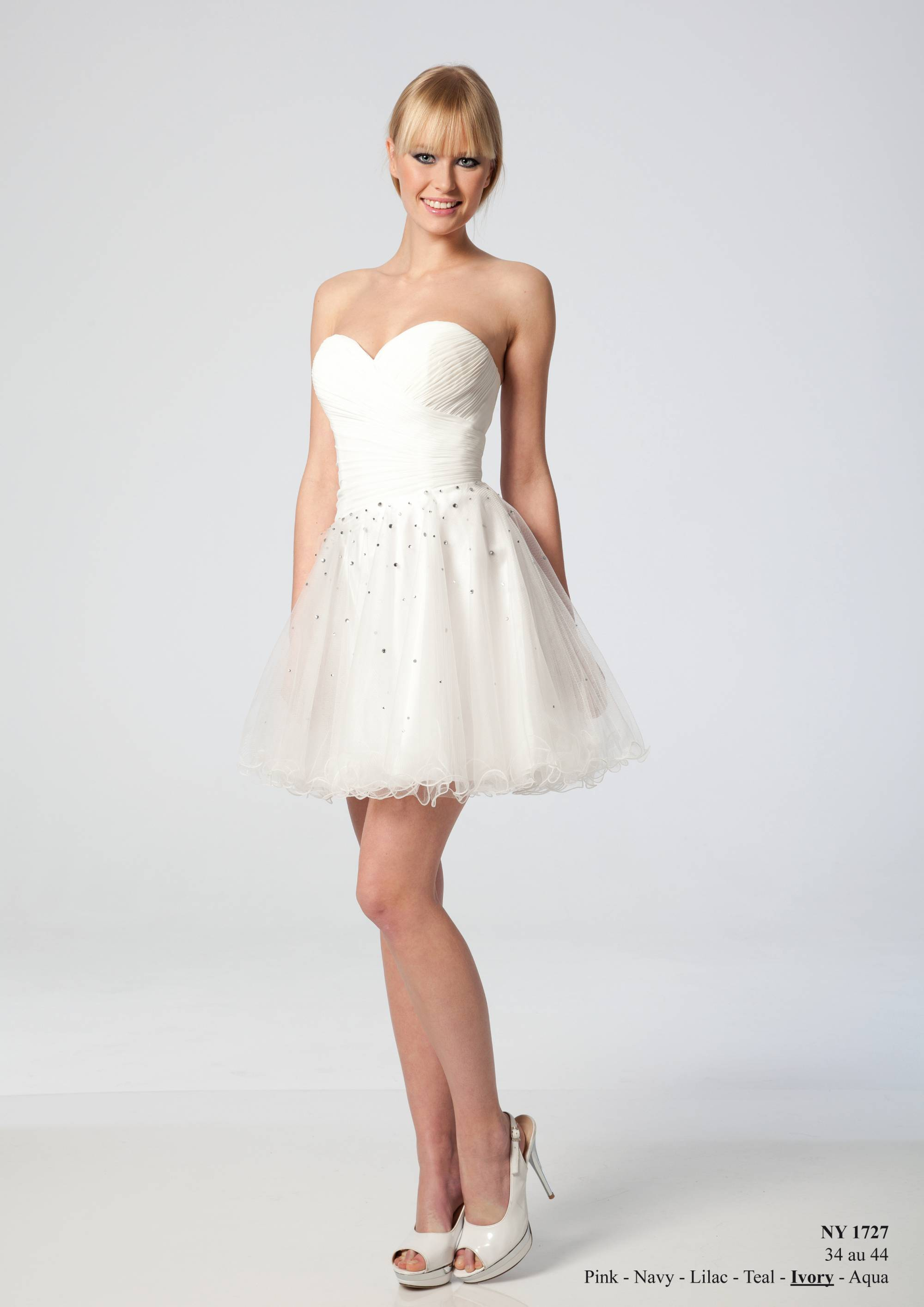 Robe bustier taille 44 pas cher