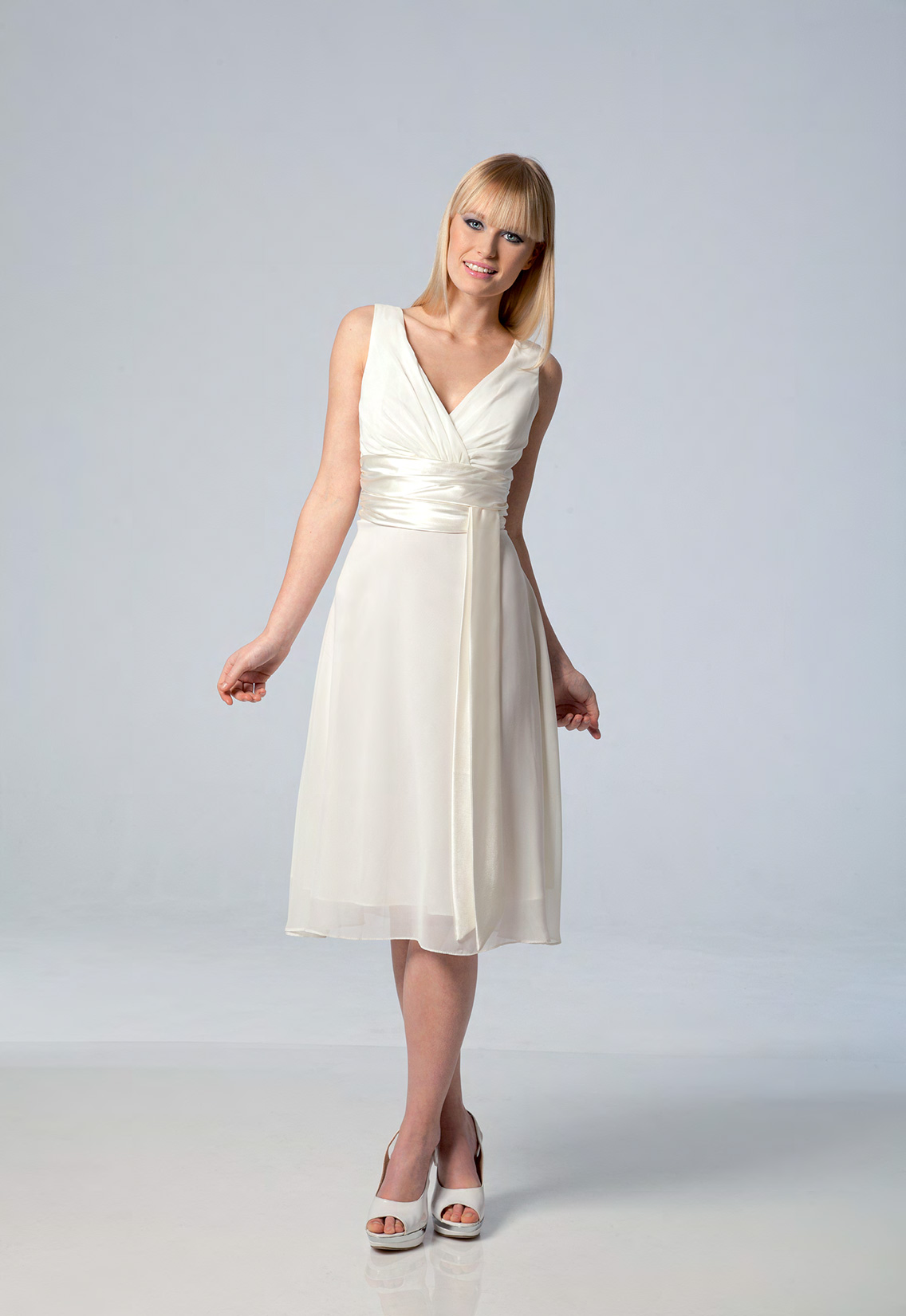 robe blanche de soir e et ceremonie collection 2015