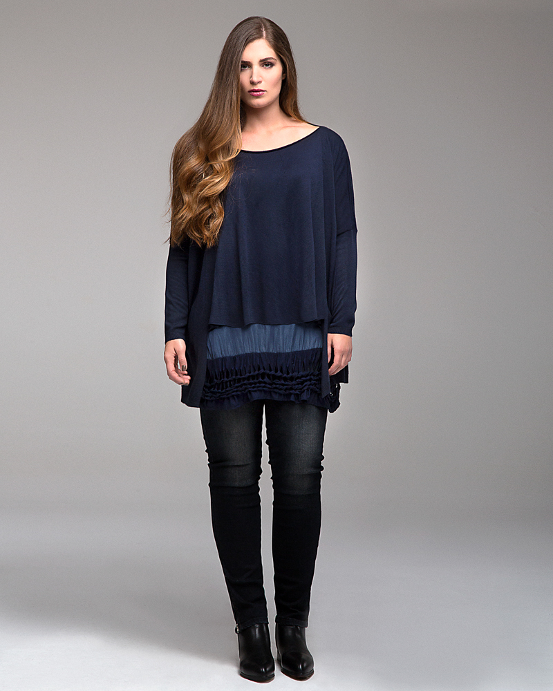 Pull femme grande taille nouvelle collection automne hiver 2016 Prêt ... 175c10f1a36