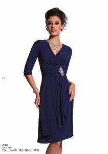 Robe noire collection automne hiver 2012 2013 taille 36 au 56